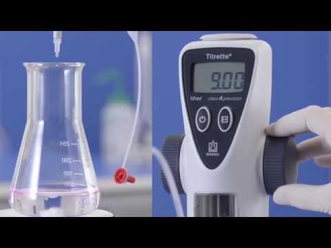 Titrette® - Titration With The Digital Bottle-top Burette