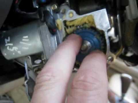 lexus ls400 - steering column repair - youtube