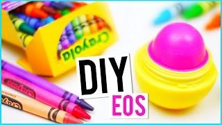 DIY EOS usando CRAYOLAS!!!
