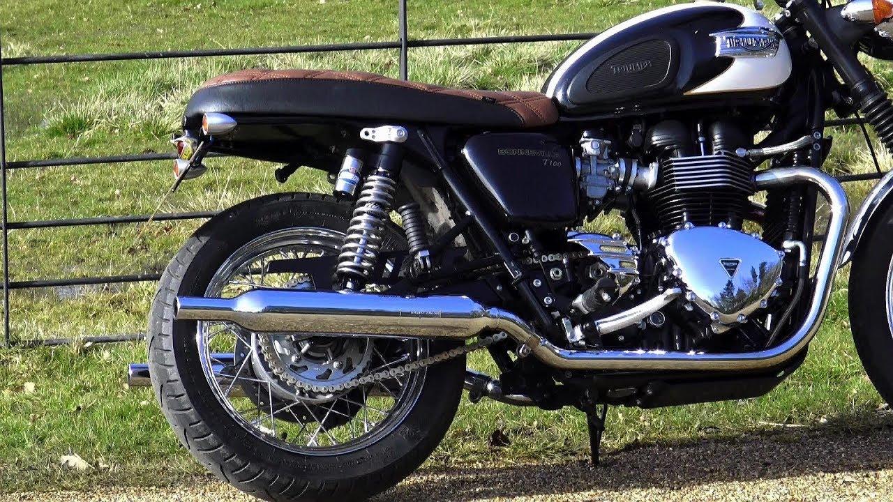 Custom Triumph Bonneville T100 Pdp Pt9 Tail Tidy Tail Light