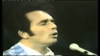 Merle Haggard - Devil Woman 'Live' Impersonating Marty Robbins