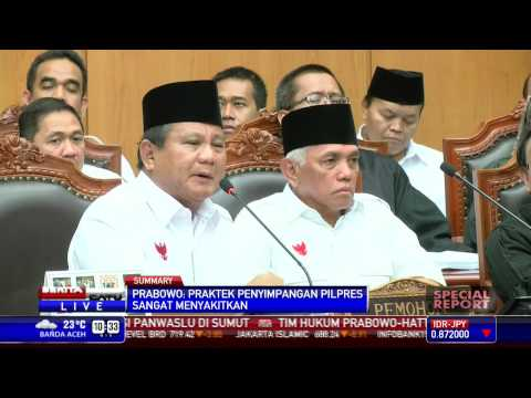 Special Report #2: Prabowo Sebut Kecurangan Pilpres Terjadi Di Negara Totaliter
