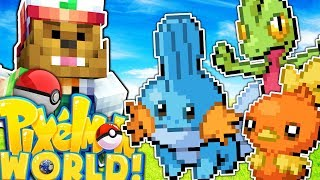 NEW GEN 3 STARTERS - PIXELMON WORLD #31