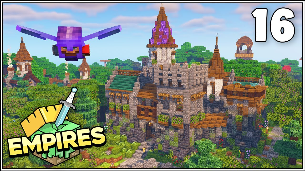 Empires SMP - WOLVES DEN CASTLE!!! - Ep.16 [Minecraft 1.17 Let's Play]