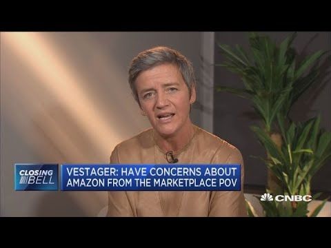 EU competition commissioner on Amazon antitrust concerns