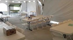 Enclosed Heated Tents
