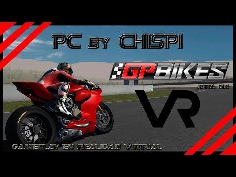 Gameplay GP Bikes beta 12b en Realidad Virtual /Ducati Panigale en Mugello