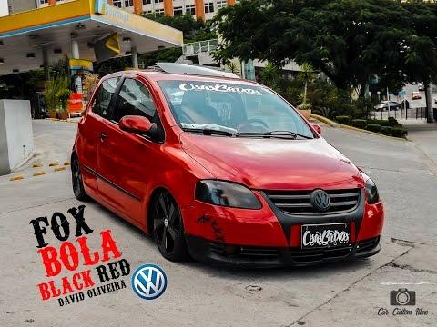 Fox Bola [[ BLACK RED]] - CHORA E FIXA
