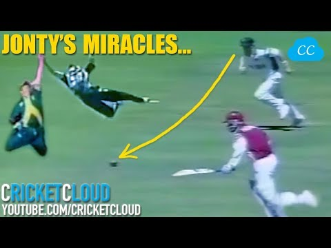 Jonty Rhodes Miracle Fielding Catches & Runouts - One Video To Learn How To Field