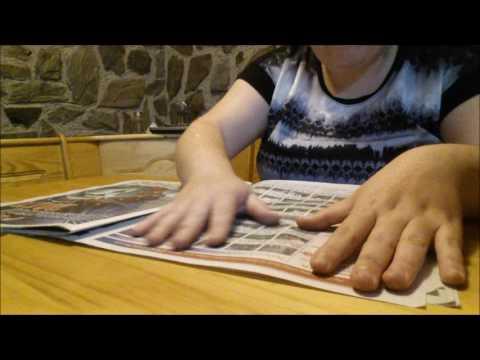 ASMR Whispered Newspaper/Magazine Flip