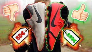 Lohnen sich günstige Fußballschuhe? Nike PHANTOM VISION vs. PHANTOM VENOM - Test and Review