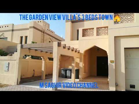 The garden view villa's 3 beds town house