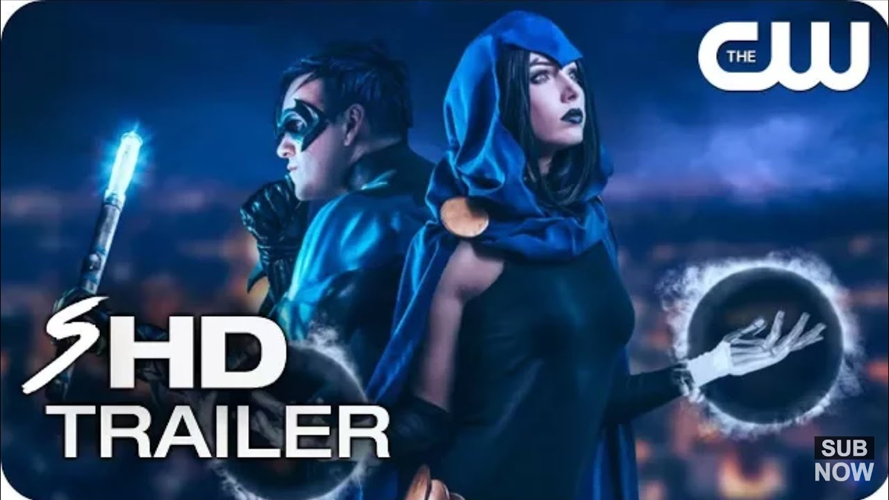 Download Teen Titans | Teaser Trailer | The CW - TV Series HOLLAND RODEN, RAY FISHER (FM)