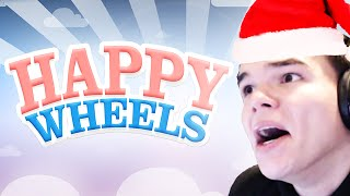 SANTA THE CHEATER! (Happy Wheels Funny Moments)