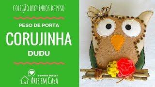 Peso de Porta Corujinha – Coleção Bichinhos de Peso