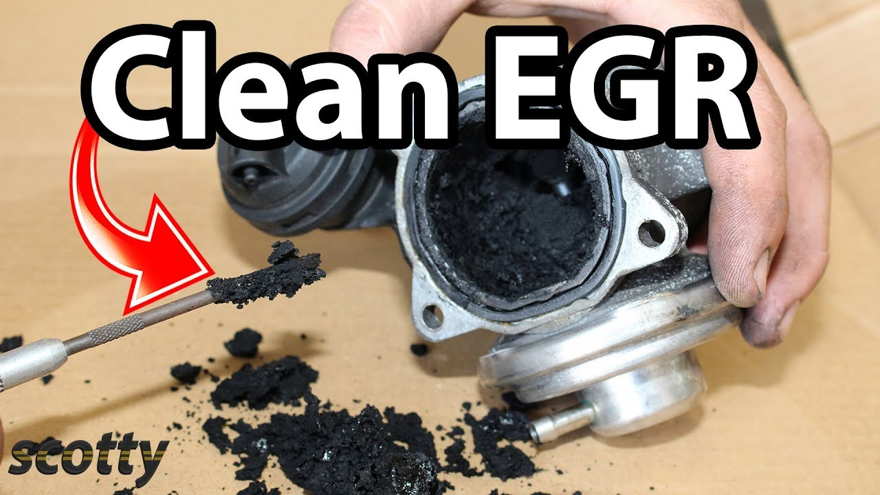 2003 Honda Odyssey Fuel Filter Location How To Clean Egr System In Your Car Low Flow Code P0401