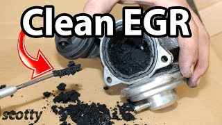 How to Clean EGR System in Your Car (Low Flow Code P0401)