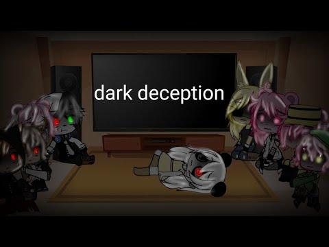 Si Los Personajes De Piggy Reacionaran A El Fandom De Dark Deception