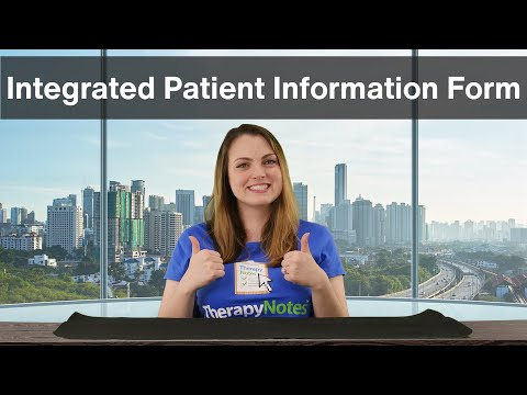 Integrated Patient Information Form