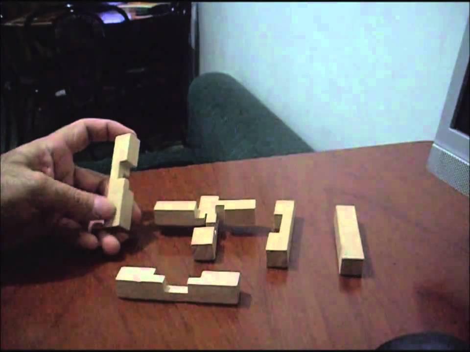 SOLUCIN Cruz de las tres direcciones Tutorial wooden
