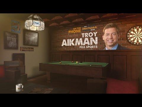 Cowboys HOF QB Troy Aikman on The Dan Patrick Show | Full Interview | 1/11/18