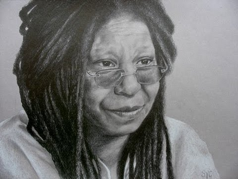 whoopi goldberg coloring pages - photo#15