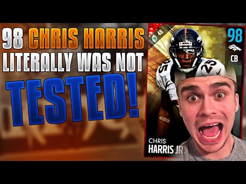 NO ONE TESTS CHRIS HARRIS JR.! ABSOLUTE BEAST! MADDEN 17 ULTIMATE TEAM
