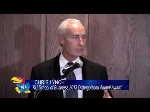 Chris Lynch - '13 Distinguished Alumnus