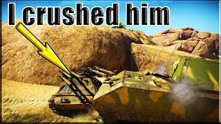 I crushed it M50 in using Maus  ( War Thunder Game Play )