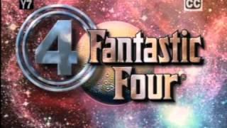 Los Cuatro Fantásticos Dibujos Animados De La Intro