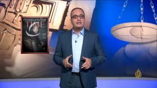 فوق السلطة-ترمب شخصية العام بمجلة التايم رغم المنافسة العربية