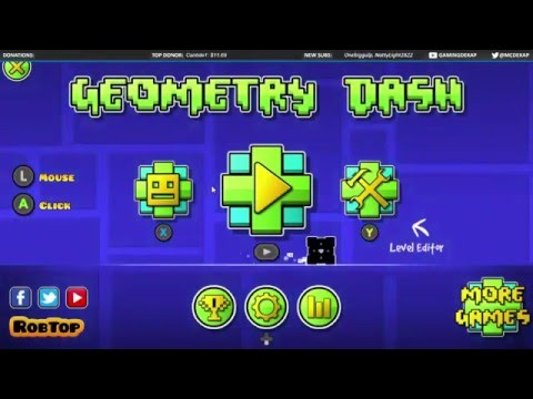 Trying To Get These Coins All Over Again In Geometry Dash