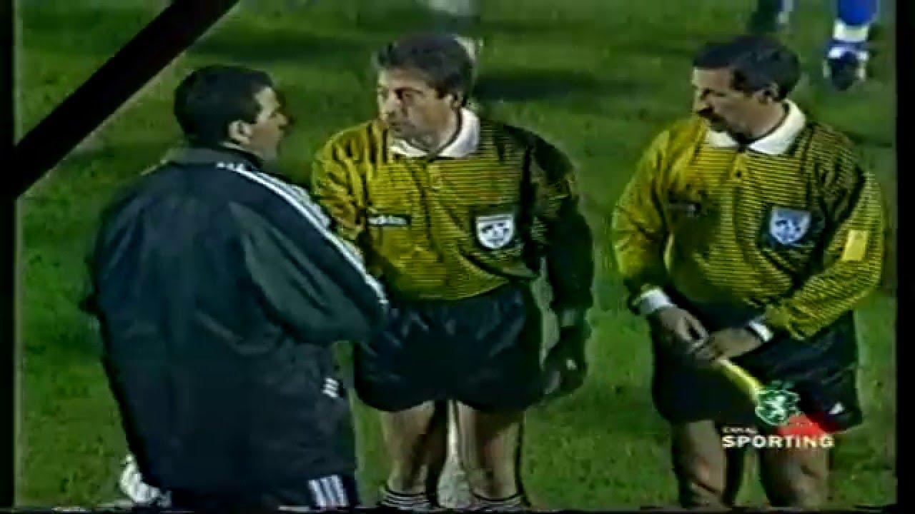 Sporting decreta LUTO por se sentir espoliado em 12 pontos no Campeonato de 1998/1999 - 25/01/1999