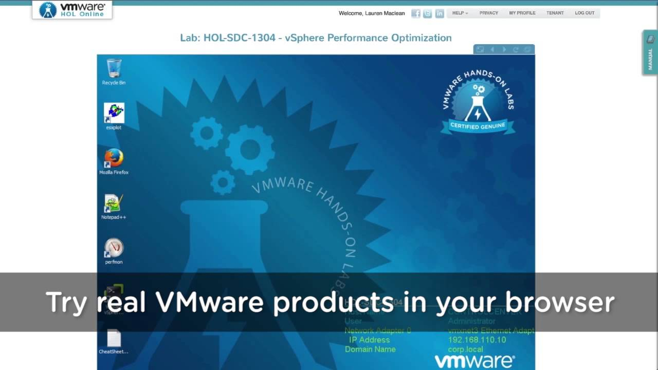 What are VMware Hands-on Labs?