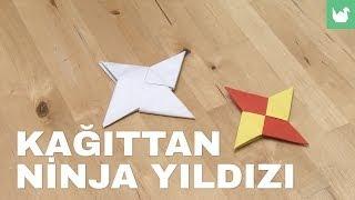 Origami: Kağıttan Ninja Yıldızı Yapımı