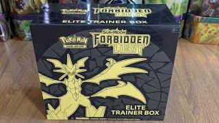 Forbidden Light Elite Trainer Box Opening