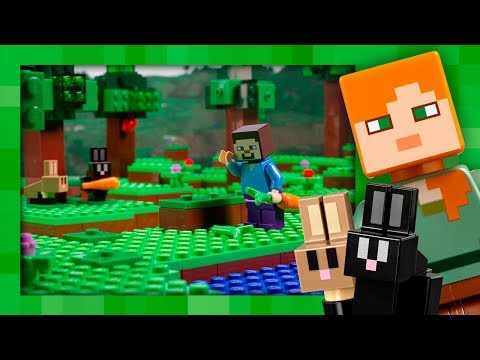 The Farm Cottage - LEGO Minecraft - 21144 - Stop Motion