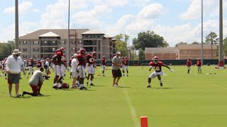 Alabama fall camp, August 16 - linebackers