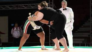 WU - +95kg - KALLO  Gyongyi (HUN) vs Harteveld Francoise (NED) (Bronze Medal)