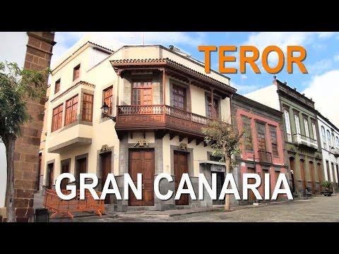 The road Artenara - Teror, sightseeing Teror (Gran Canaria)