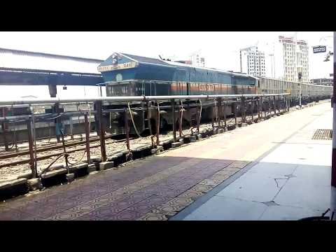 Solapur Station: Announcements of 16340 and 51456