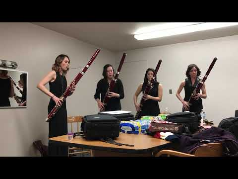 Havana by Camila Cabello - The Breaking Winds Bassoon Quartet