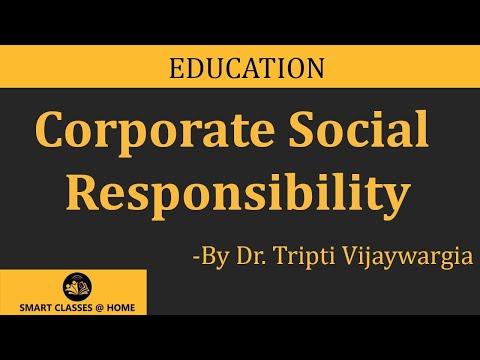 Corporate Social Responsibility(B.ed.,M.ed)