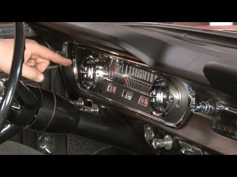 1965 Mustang Gt Wiring Diagram 2 Way Switch Wire Instrument Bezel And Lens Installation Youtube