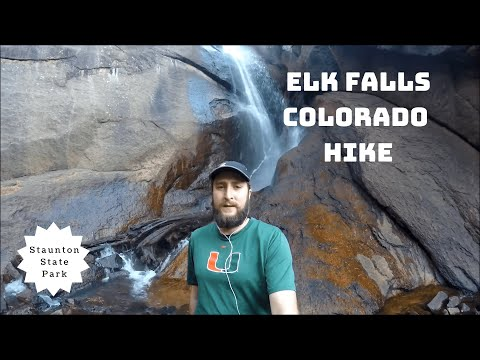 Elk Falls Staunton State Park Colorado Hike Review