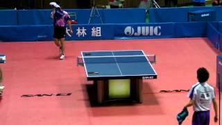 Table Tennis Japan Top 12;Koki Niwa vs Kohei Morimoto 2013.2.24