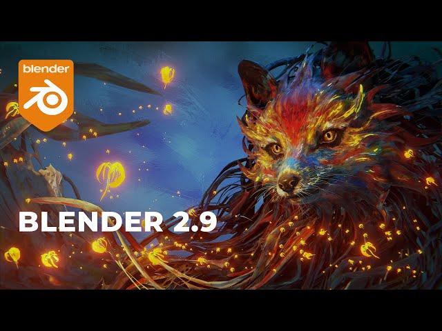 Обзор Blender 2.90