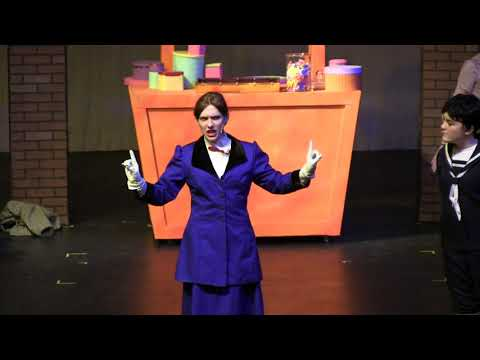 Mary Poppins at Burnsville High School: Supercalifragilisticexpialidocious