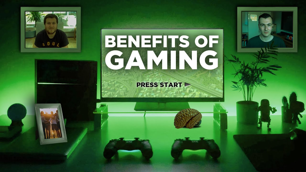 Why Gaming can be GOOD for you!