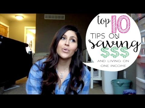 Top ten tip on saving money and living on one income